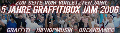 5 Jahre Graffitibox Summer Jam